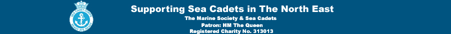 Supporting Sea Cadets North East